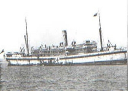 S.S. Kyarra at war as a hospital ship